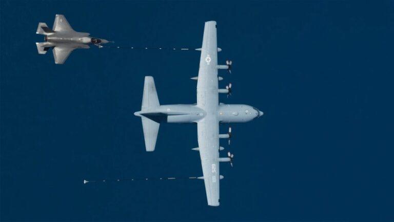 Marine F-35B And KC-130J Collide And Crash